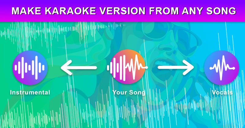 Remove vocal from any music track - Vocal Remover